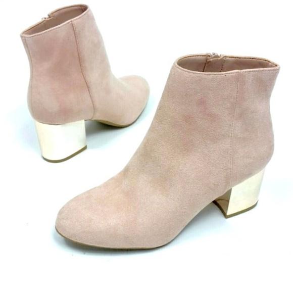 82c7363d6ca Aldo pink suede boots mirror heal size 6.5 bootie NWT